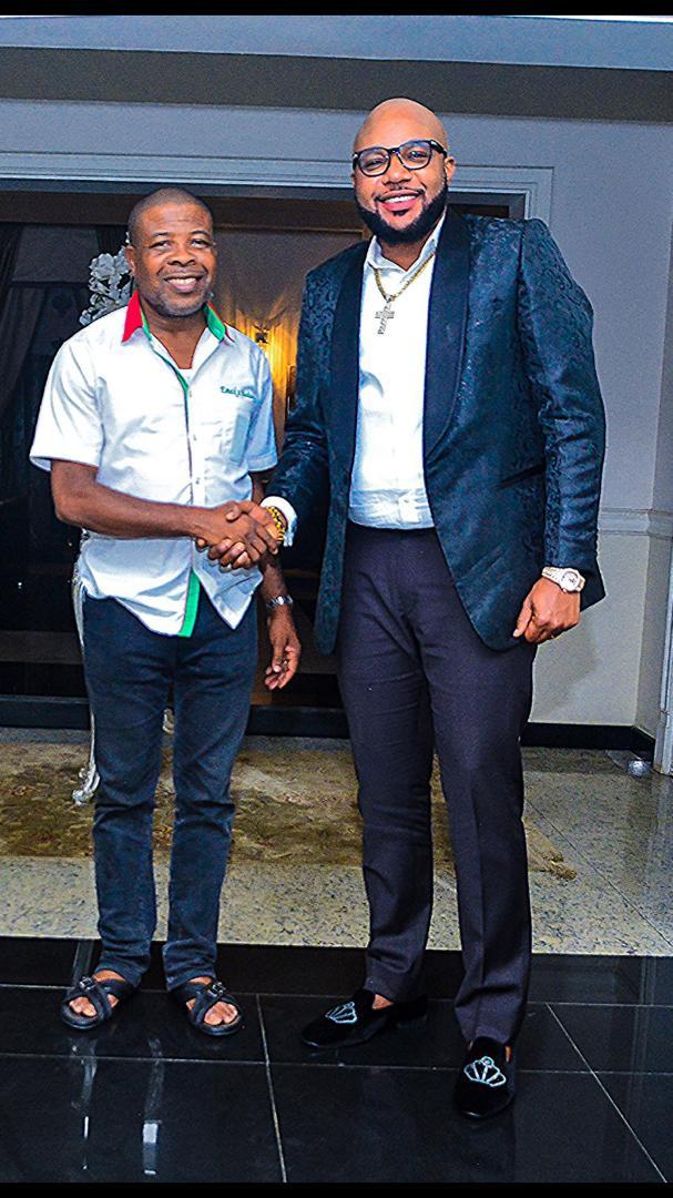 Photos: Kcee and Emoney visit Imo State governor-elect,?Emeka Ihiedioha