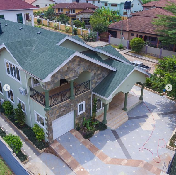 Actress Christabel Ekeh shows off her newly completed house (Photos)