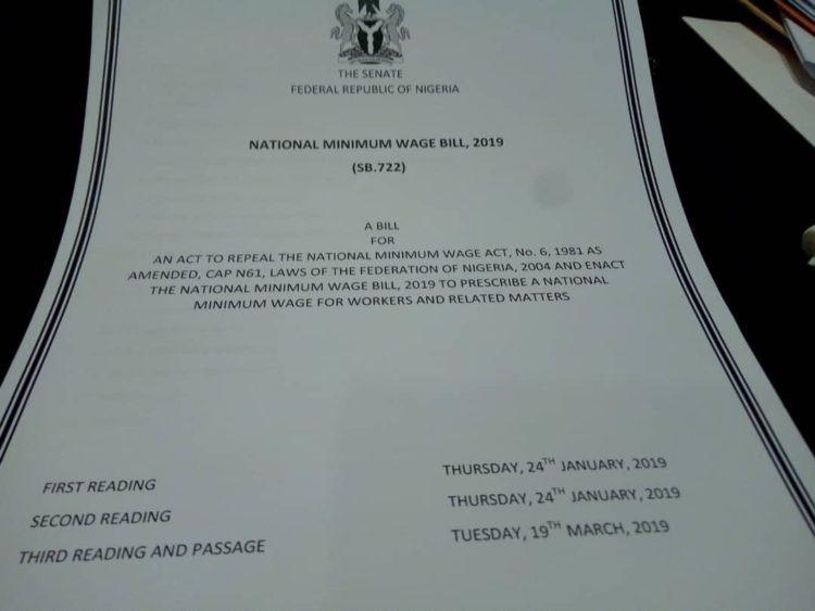 Photos: Bukola Saraki signs National Minimum Wage Bill