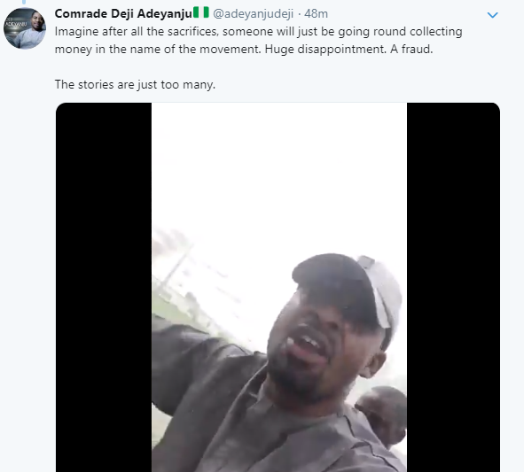 Deji Adeyanju and Charly Boy accuse each other of receiving money from politicians to run