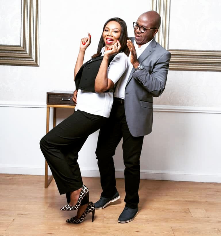 Betty Irabor shares lovely new photos with her hubby, Soni, who turns a year older today