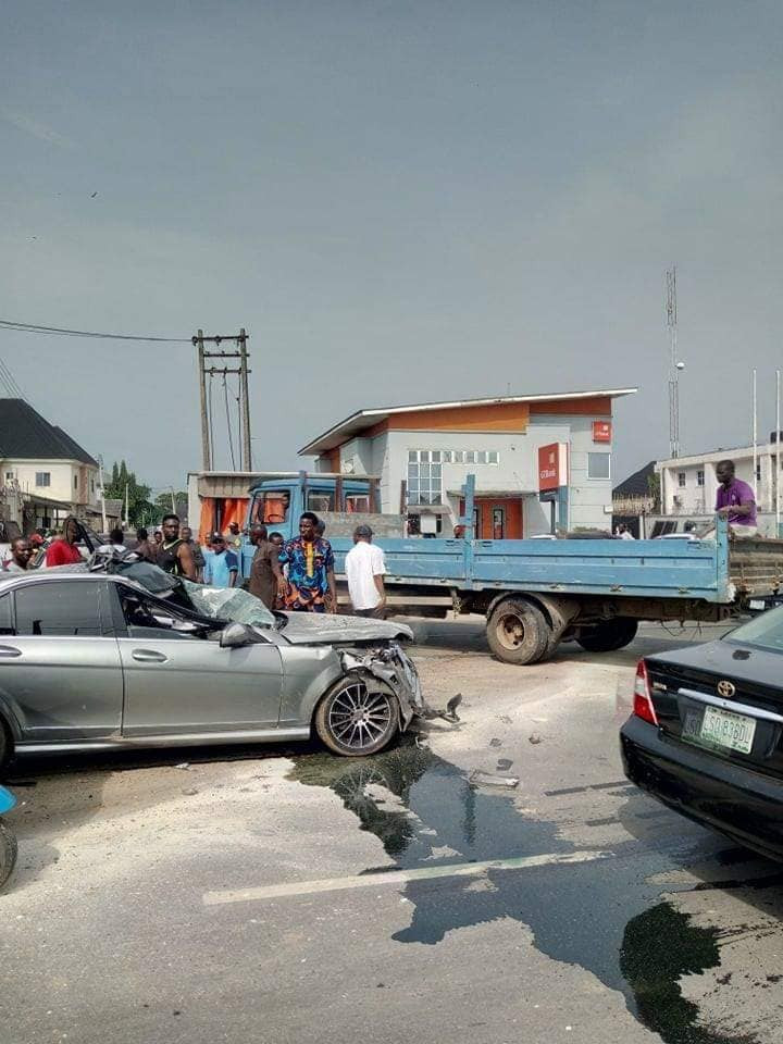 Photos: Man crashes his friend