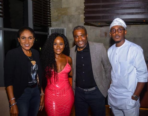 Photos:?Tobi and?CeeC spotted at a dinner party after the explosive BBNaija reunion episode