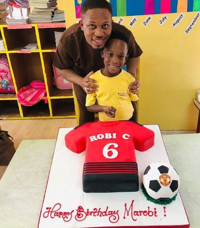 Photos: Nigerian rapper, Naeto C celebrates the 6th birthday of his first son,?Marobichukwu Chikwe