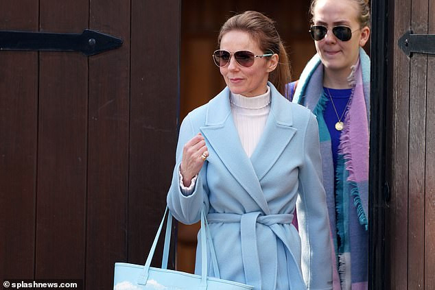 Geri Horner steps out in style for the first time since Spice Girls bandmate Mel B revealed they had sex in shock interview (Photos)