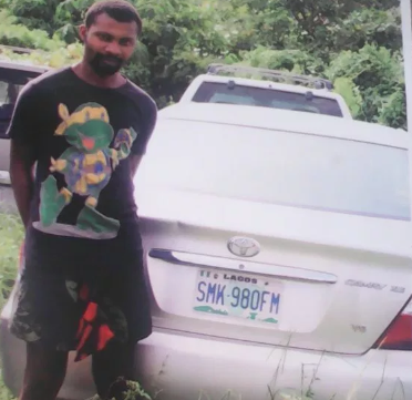 Photo: Suspected killer of Taxify driver arrested in Lagos