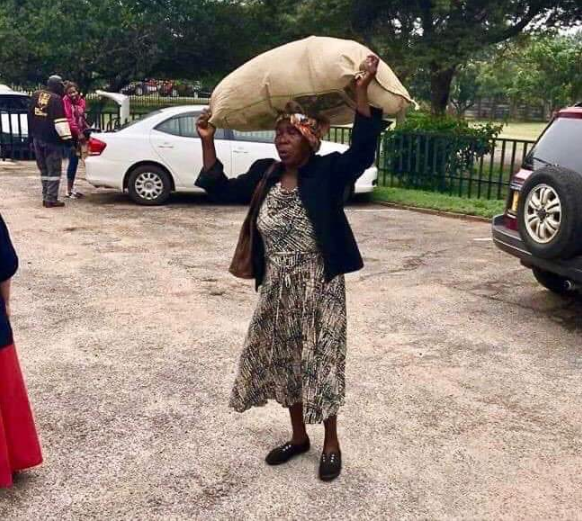 Zambian woman to get a solar-powered house and $1,000 monthly allowance after she walked long distance to donate relief materials to Cyclone Idai flooding victims