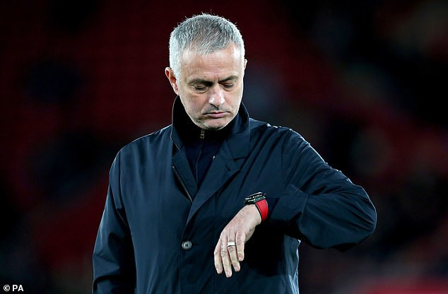 Former Manchester United boss, Jose Mourinho moves to