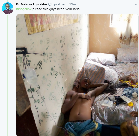 Photos: Young men allegedly brutalized by SARS officers in Lagos