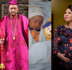 Photos: Alaafin of Oyo welcomes another son