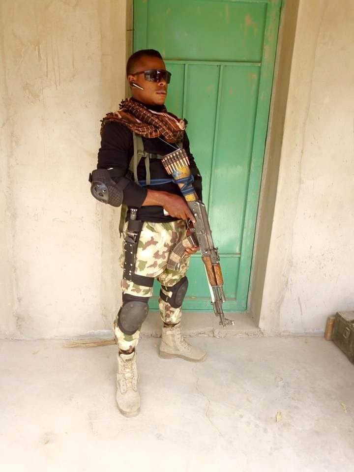 Man pays glowing tribute to his brother who died while fighting Boko Haram members in the North East