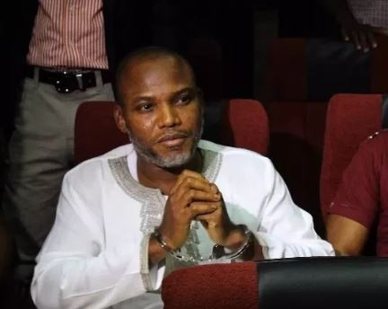 Court revokes Nnamdi Kanu?s bail, orders his re-arrest