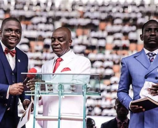 Pastor Oyedepo, Enenche, Nathaniel Bassey, Ukpai and others attend PDP victory thanksgiving service (Photos)