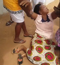 Sad! Woman breaks down in tears after fraudsters transferred N400k from her account (video)