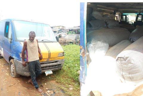Police arrest suspected Illegal fuel bunker In Lagos (Photo)