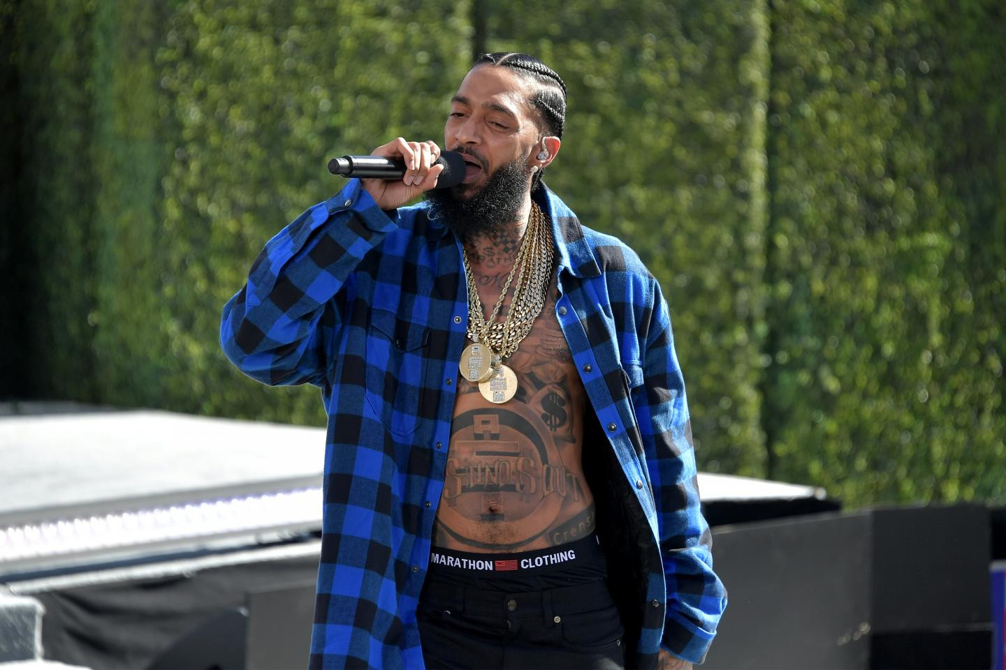US rapper, Nipsey Hussle shot dead outside his Los Angeles Store?