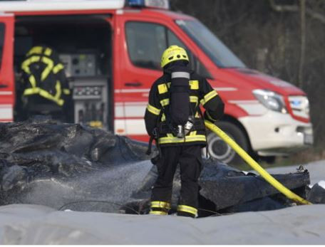 Plane crash leaves three people dead in Germany