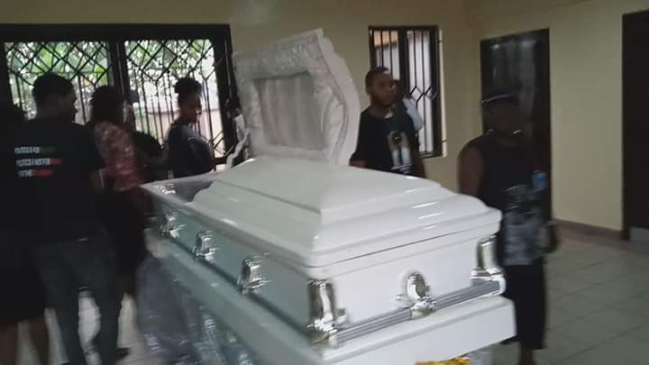 INEC adhoc staff who was shot dead during the election in Rivers has been laid to rest