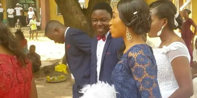 Photos: NKST Benue pastor allegedly sends Catholic guests out of church during wedding, says new law doesn