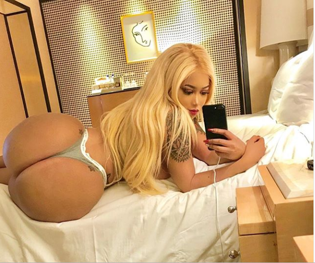 Vera Sidika attempts to break the internet as she shows off her king-sized backside in nearly naked photo