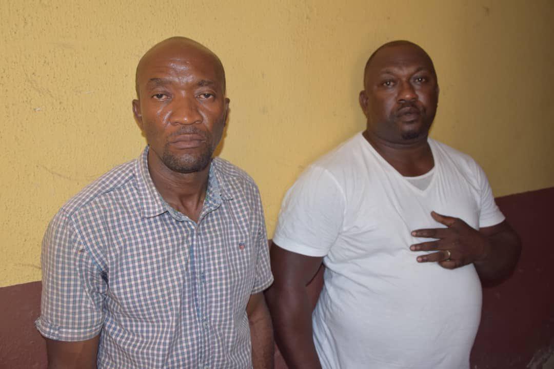 Photo and identity of police officers accused of killing Kolade Johnson