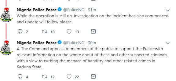 Nigerian police force reacts to reports of
