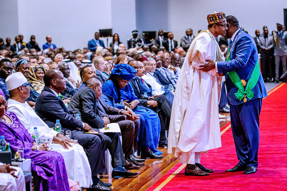 Photos:?President Buhari attends Inauguration ceremony of President Macky Sall of Senegal
