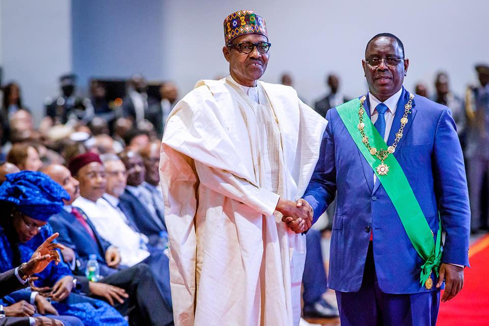 Photos:?President Buhari attends Inauguration ceremony of President Macky Sall of Senegal
