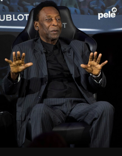 Brazilian football legend Pele admitted to hospital in Paris
