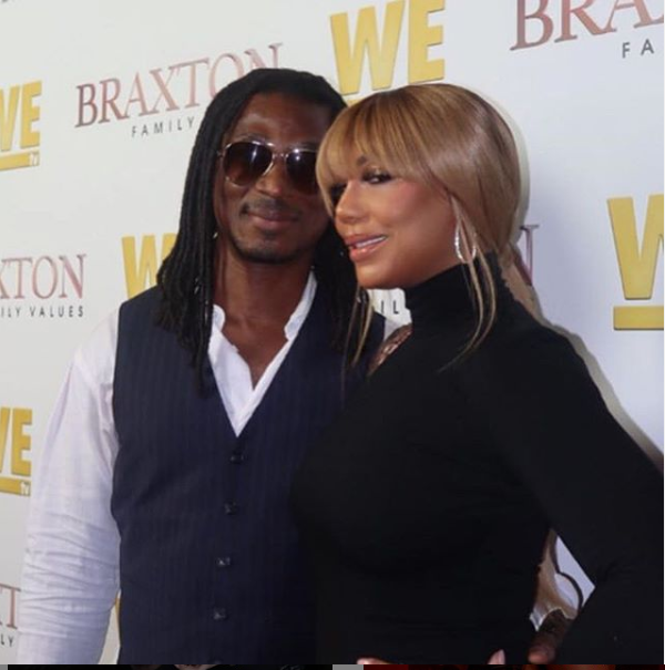 Tamar Braxton And Her New Nigerian Boyfriend David Adefeso Make Red Carpet Appearance Together At Braxton Family Values Premiere (Photos)