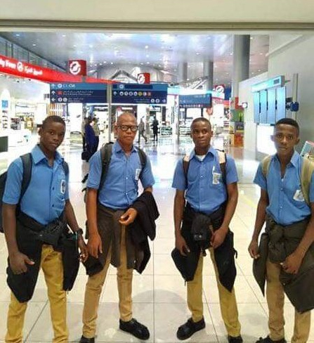 4 Nigerian boys win Bronze medal at the International Festival of Engineering, Science & Tech in Tunisia