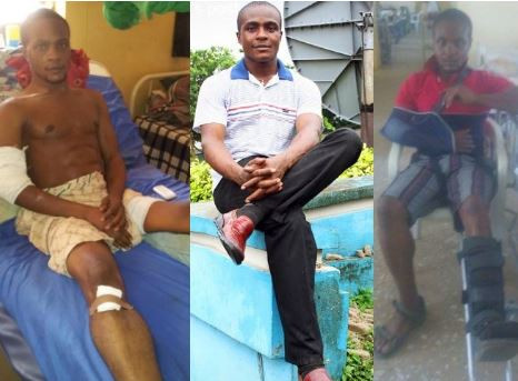 'Its time to speak out rather than committing suicide' - Nigerian soldier shot by Boko Haram terrorists in 2015 cries for help