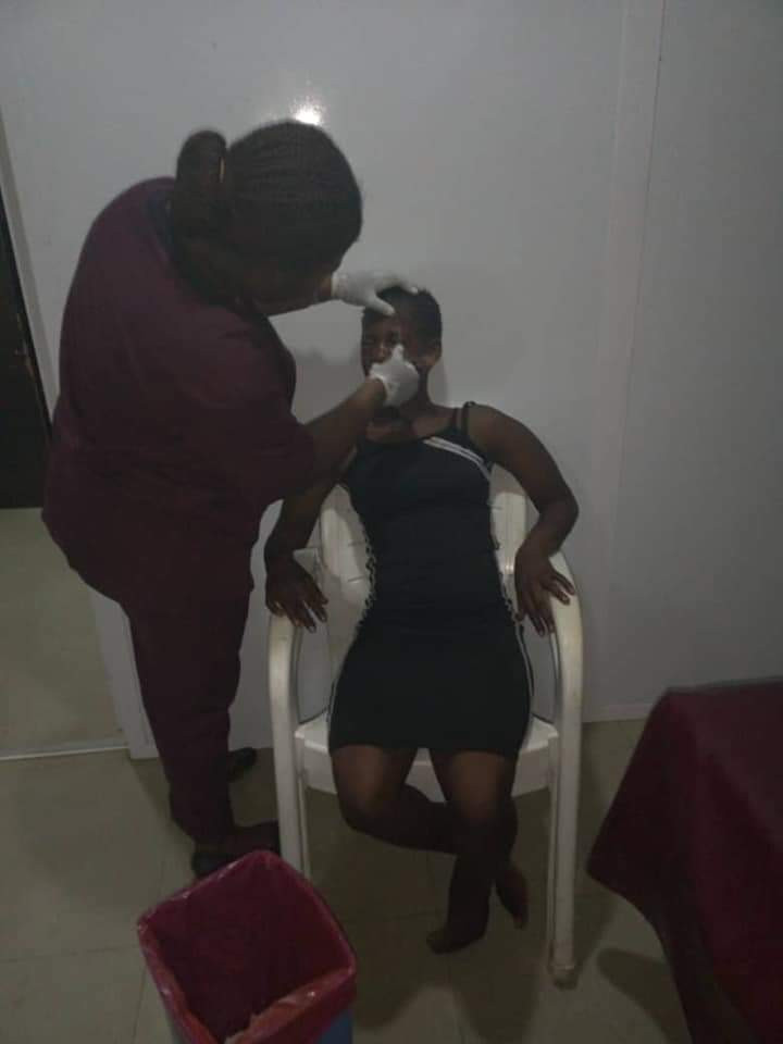 Sad story of a 17-year-old girl who almost lost an eye after she was brutally assaulted by a man in Abuja for turning down his sexual advance
