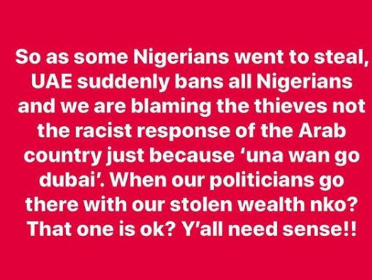 Arabic racism stinks to high heavens' – Seun Kuti reacts to UAE's