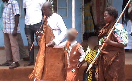 Photos: Boy,9 marries 6-year-old girl in Uganda