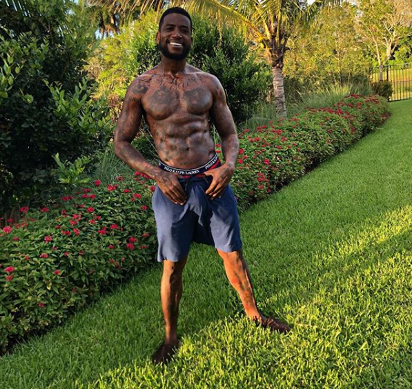 Rapper, Gucci Mane causes a stir on IG as he flashes his huge eggplant?(Photo)
