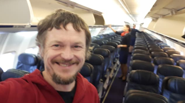 Meet the man who was the only passenger in a 189-passenger Boeing 737 plane to Italy