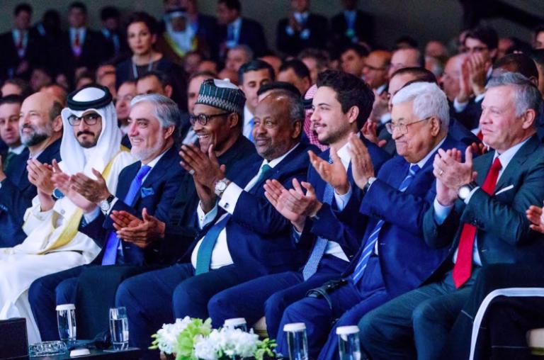Photos : President Buhari speaks at the World Economic Forum