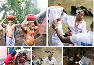 Nigerian web user in shock after a witch doctor who does rituals with