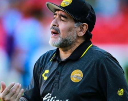 Diego Maradona to?resign as coach of Mexican Club, Dorados over ?referee bias?