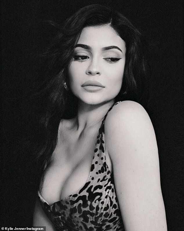 Self-made billionaire Kylie Jenner shares new sexy photos with inspirational quotes