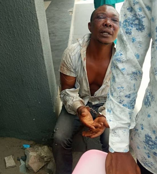 Nigerian dad is hailed a superhero after he chased and captured the kidnappers who abducted his wife and two sons