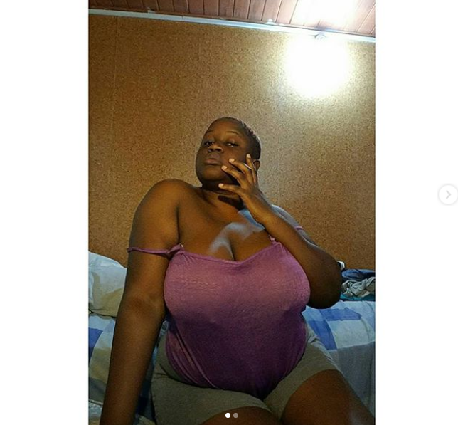 Busty Ghanaian model who doesn
