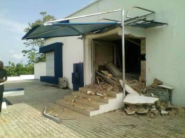 Update: Seven confirmed dead in Ondo bank robbery (photos)