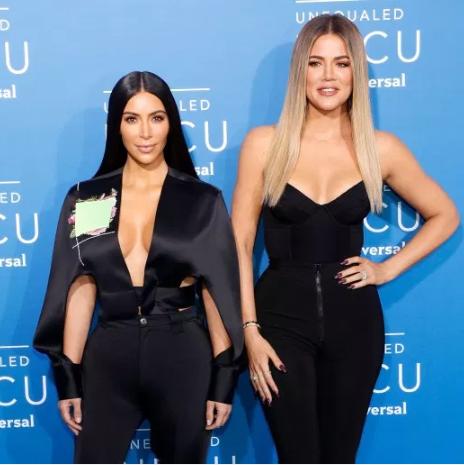 Khloe Kardashian thanks Kim Kardashian for making a sex tape in mock acceptance speech for reality show award