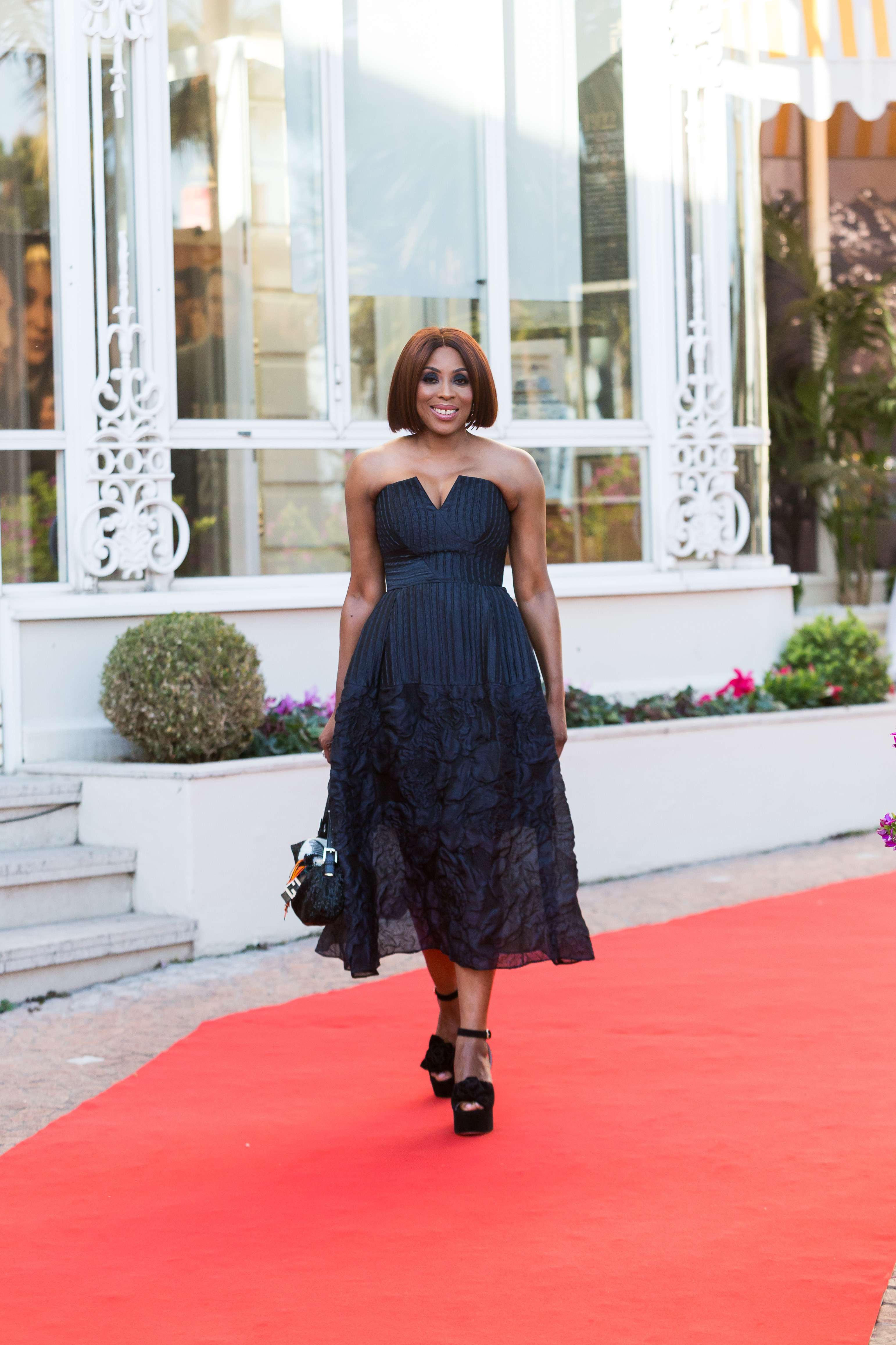 Nigerian media mogul Mo Abudu receives 2019 M?dailles d?Honneur at MIPtv in Cannes