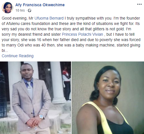 Update: Friend of lady accused of sending thugs to beat her husband to death in Port Harcourt gives her own account, says the man was a serial wife beater