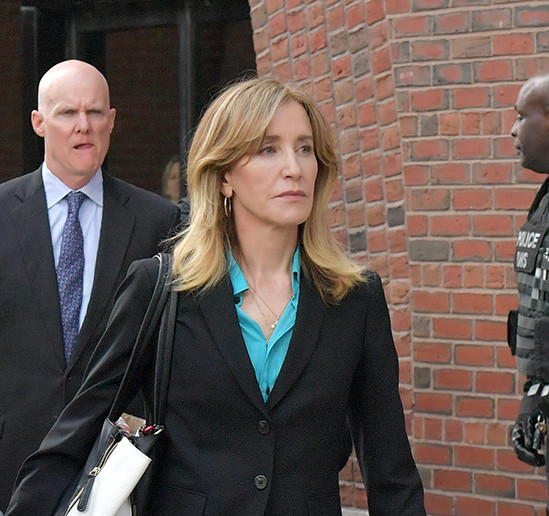 Actress Felicity Huffman pleads guilty to college cheating scam, faces 27 months in prison