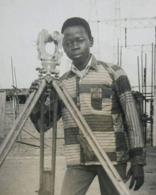Epic throwback photo of Adams Oshiomhole as a teenager