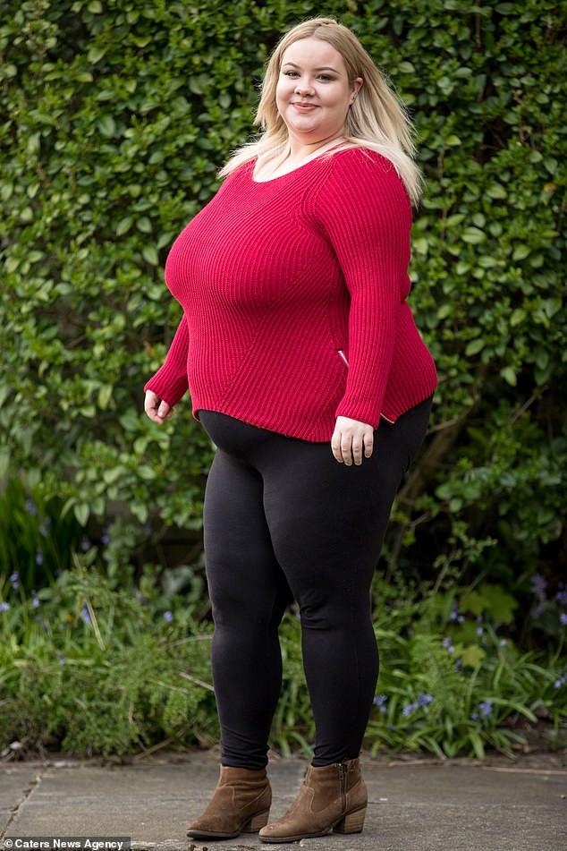 Meet the 25-year-old lady with gigantic breasts that won